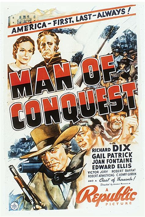 Man of Conquest (1939) - Posters — The Movie Database (TMDb)