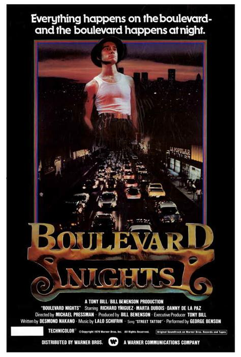 Boulevard Nights Movie Posters From Movie Poster Shop