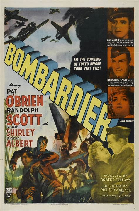 Bombardier (1943) Poster #1 - Trailer Addict
