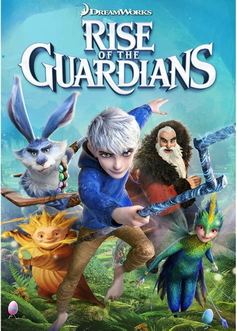 Rise of the Guardians Official DVD Cover by Cool-And ...