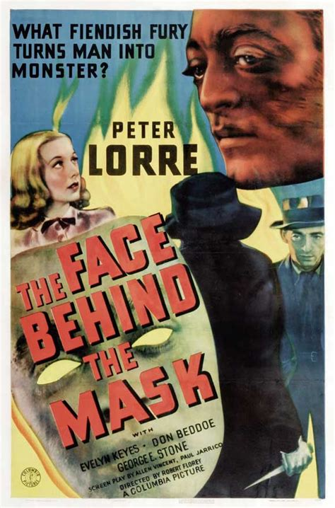 The Face Behind the Mask Movie Posters From Movie Poster Shop