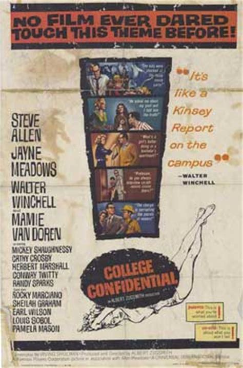 College Confidential Movie Posters From Movie Poster Shop