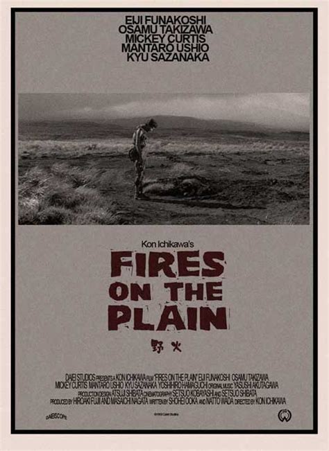 Fires on the Plain Movie Posters From Movie Poster Shop