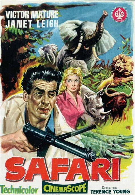 Safari (1956) - MovieMeter.nl