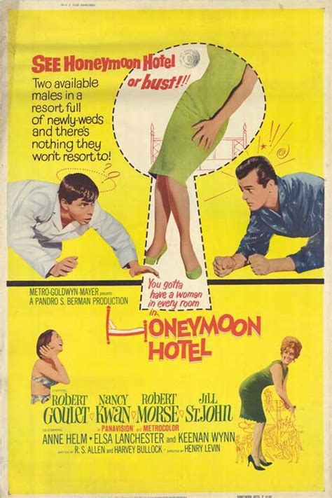 Honeymoon Hotel Movie Posters From Movie Poster Shop