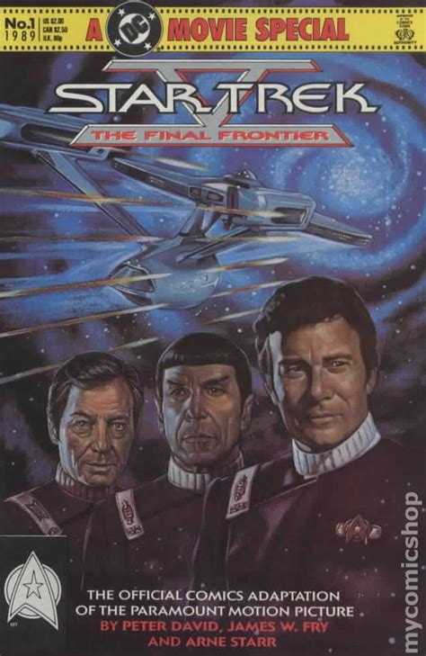 Star Trek Movie Special V The Final Frontier (1989) comic ...