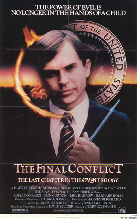 Omen 3: The Final Conflict Movie Posters From Movie Poster ...