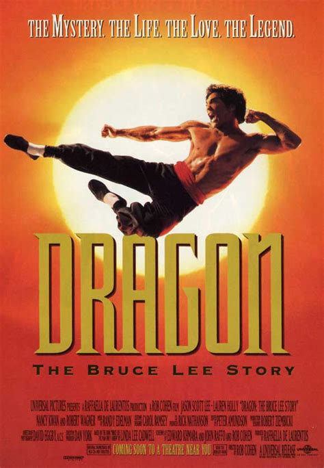 Dragon: The Bruce Lee Story Movie Posters From Movie ...