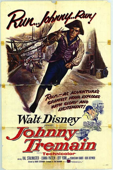 Johnny Tremain movie posters at movie poster warehouse ...
