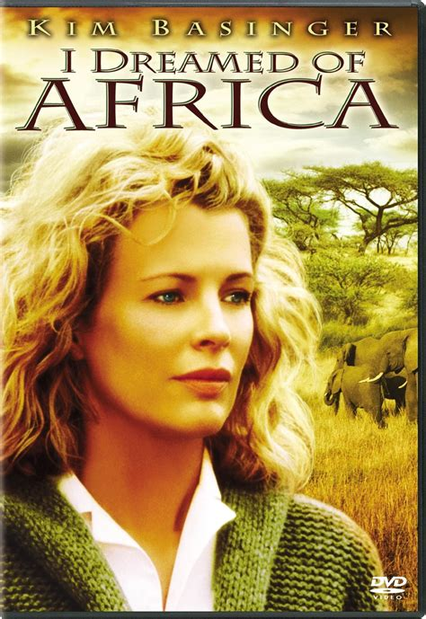 I Dreamed of Africa DVD Release Date August 29, 2000