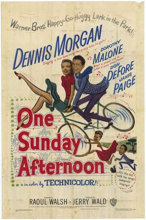 One Sunday Afternoon Movie Posters From Movie Poster Shop