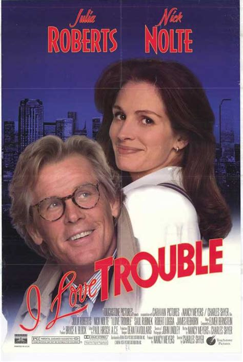 I Love Trouble Movie Posters From Movie Poster Shop