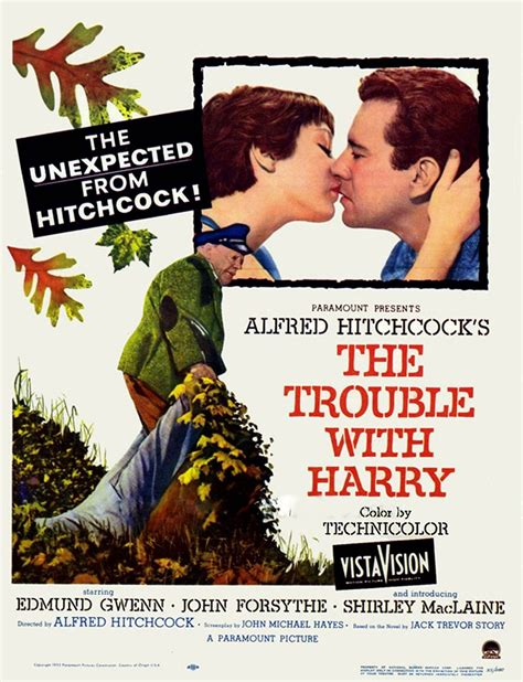 Alfred Hitchcock Blogathon – The Trouble With Harry (1955 ...