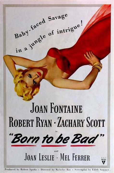 Born to Be Bad Movie Posters From Movie Poster Shop