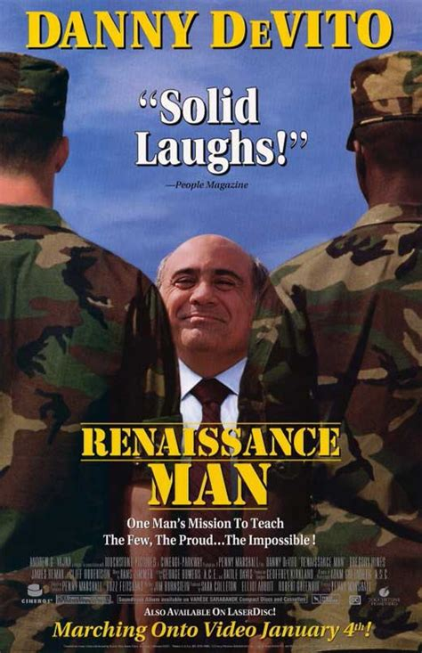 Renaissance Man Movie Posters From Movie Poster Shop