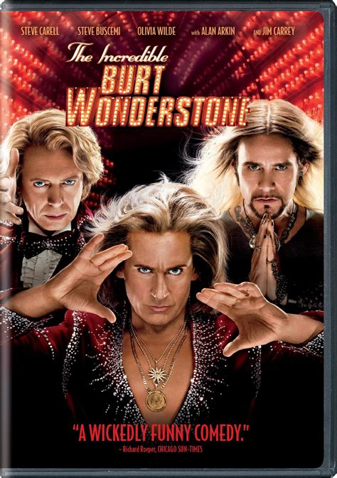 The Incredible Burt Wonderstone DVD Release Date June 25, 2013