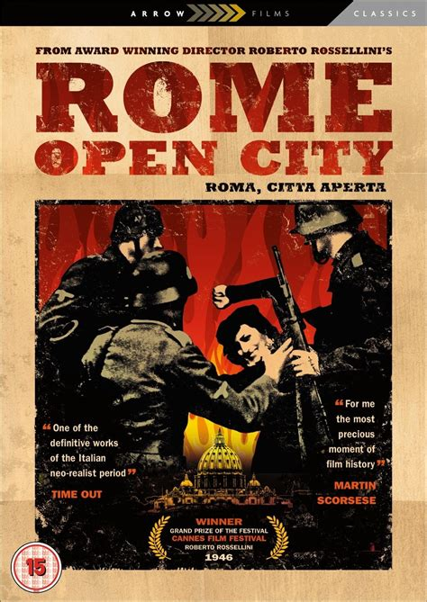 Rome, Open City (1945) - Posters — The Movie Database (TMDb)