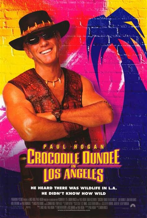 Crocodile Dundee in Los Angeles Movie Posters From Movie ...