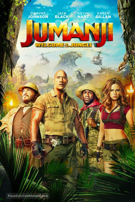 Jumanji: Welcome To The Jungle movie cover