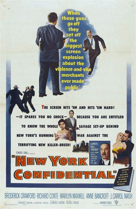 New York Confidential Movie Posters From Movie Poster Shop