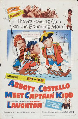 Abbott and Costello Meet Captain Kidd (1952) movie posters