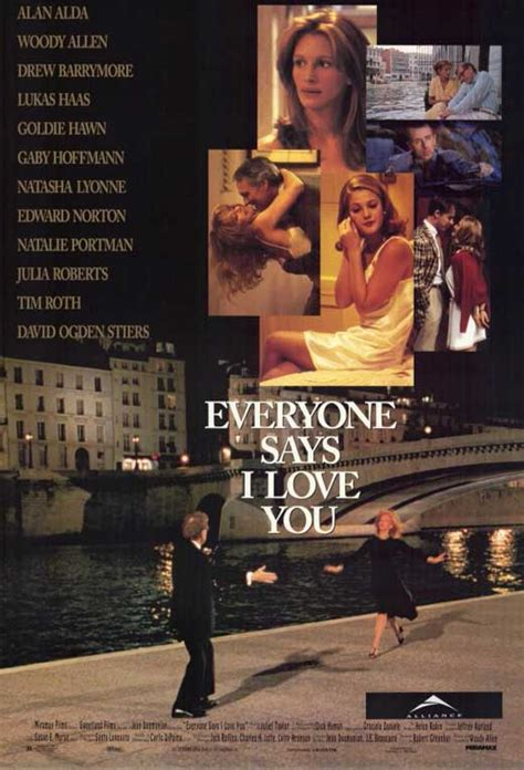 Everyone Says I Love You Movie Posters From Movie Poster Shop