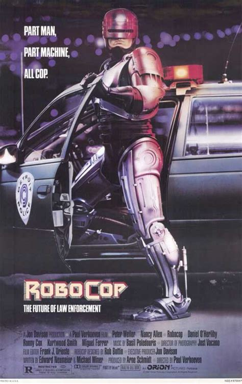 RoboCop Movie Posters From Movie Poster Shop
