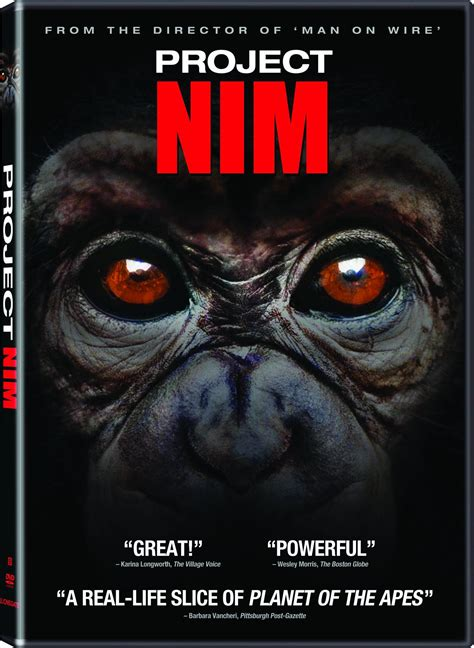 Project Nim DVD Release Date February 7, 2012