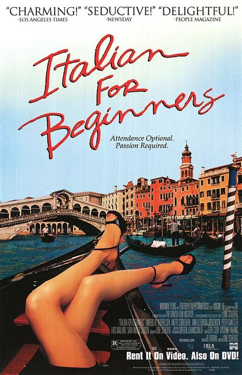 Italian for Beginners movie posters at movie poster ...