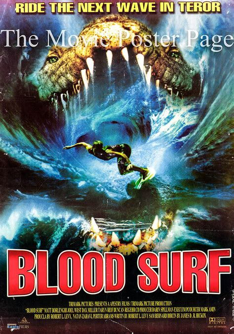Blood Surf (2000) - (Dax Miller) Egyptian film poster F ...