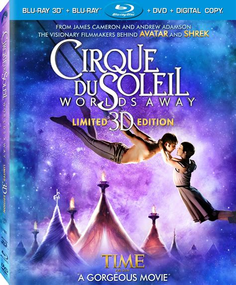 Cirque du Soleil: Worlds Away DVD Release Date March 12, 2013