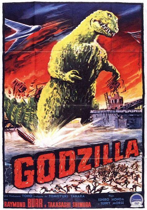 MONSTER BRAINS: Godzilla Posters From The Fifties