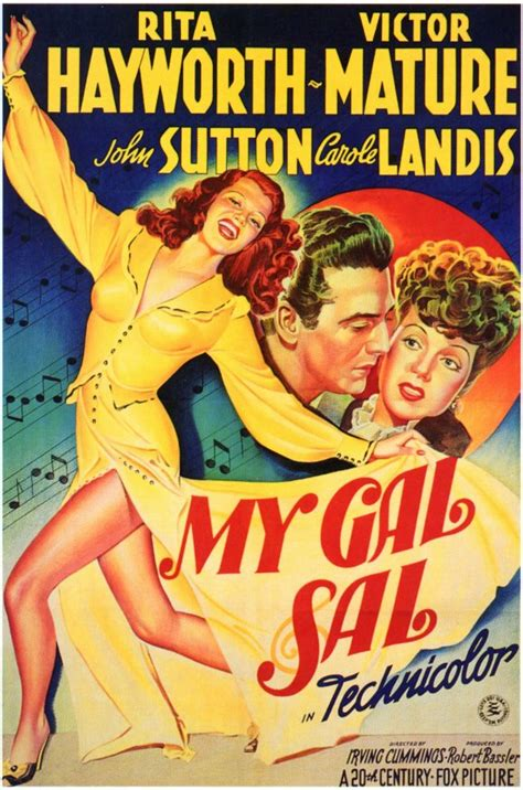 My Gal Sal Movie Posters From Movie Poster Shop
