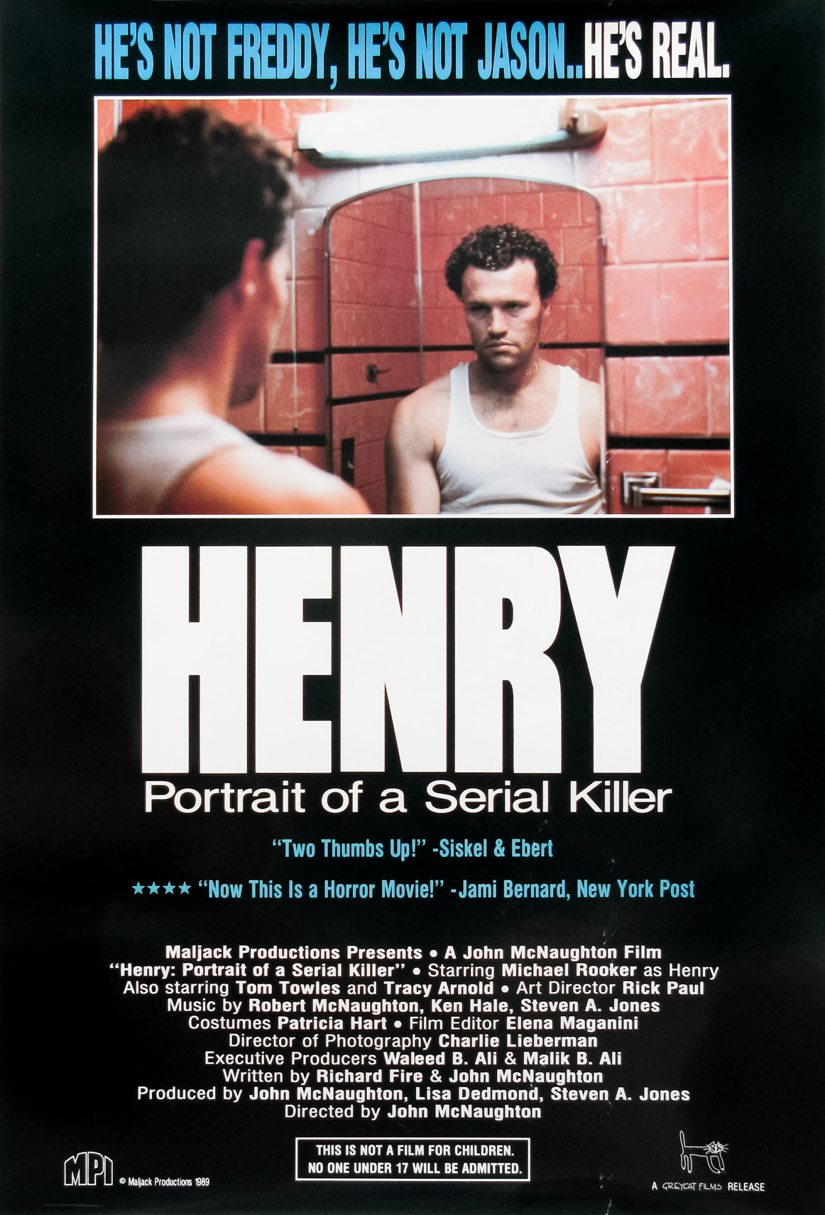 Henry: Portrait of a Serial Killer [1986]