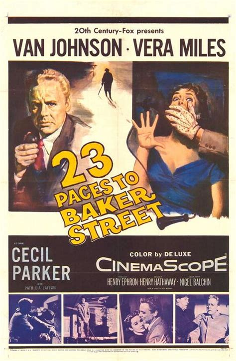 23 Paces to Baker Street Movie Poster - IMP Awards