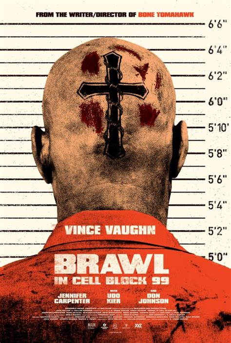 Brawl in Cell Block 99 Reveals Official Poster