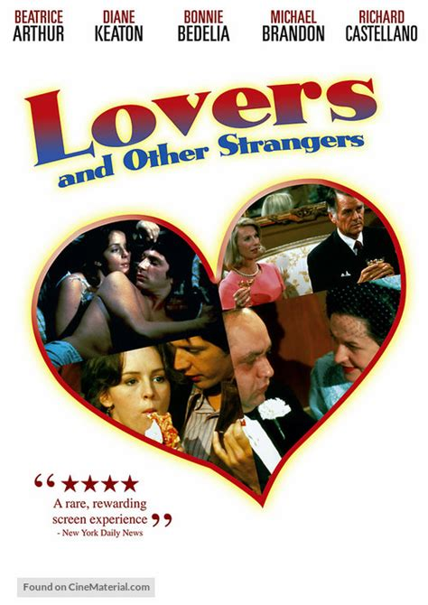 Lovers and Other Strangers dvd cover