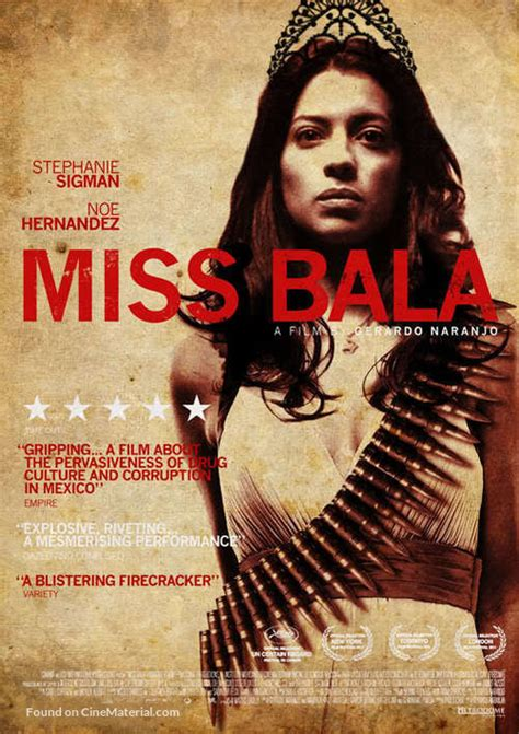 Miss Bala British movie poster