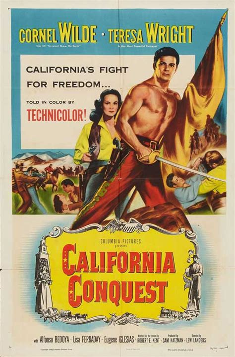 California Conquest Movie Posters From Movie Poster Shop