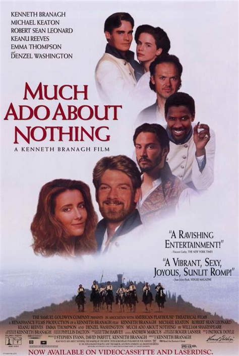 Much Ado About Nothing Movie Posters From Movie Poster Shop