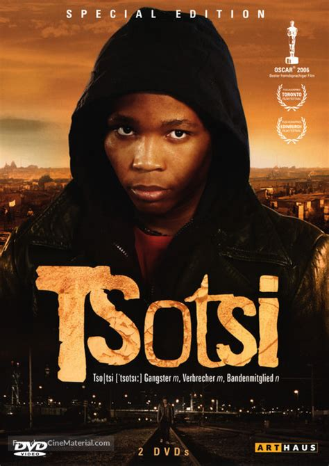 Tsotsi German movie cover