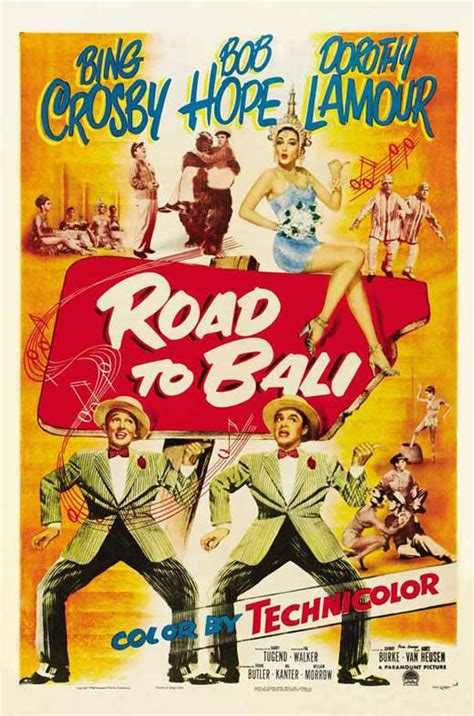 Road to Bali Movie Posters From Movie Poster Shop