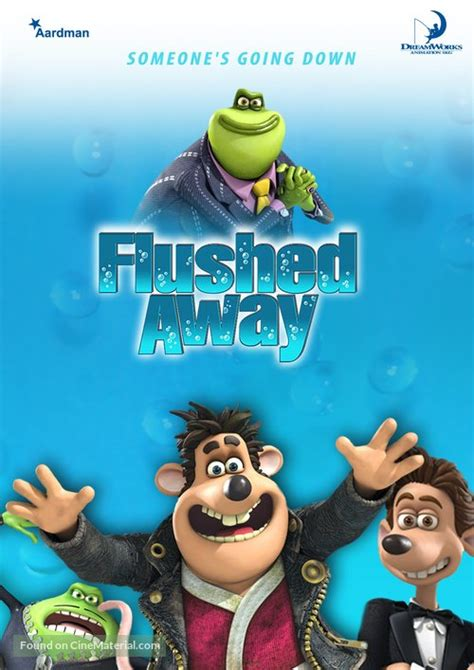 Flushed Away Dutch movie cover