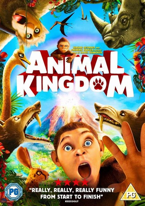 Animal Kingdom: Let's Go Ape DVD Review - ET Speaks From Home