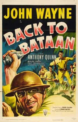 Back to Bataan Movie Posters From Movie Poster Shop
