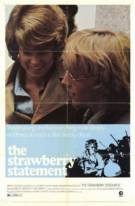 The Strawberry Statement Movie Posters From Movie Poster Shop