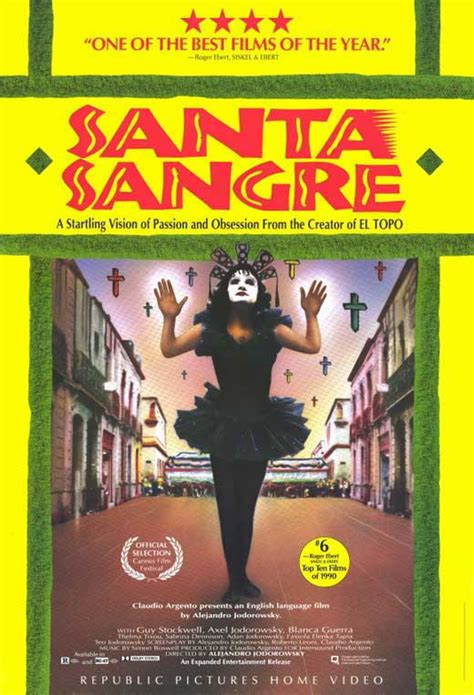 Santa Sangre Movie Posters From Movie Poster Shop
