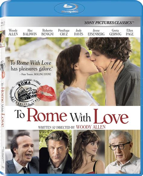 To Rome with Love DVD Release Date January 15, 2013