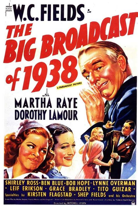 The Big Broadcast of 1938 Movie Posters From Movie Poster Shop