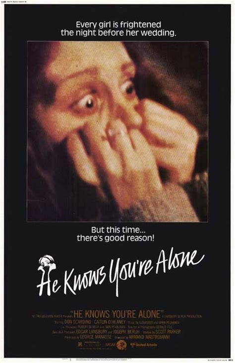 He Knows You're Alone Movie Posters From Movie Poster Shop